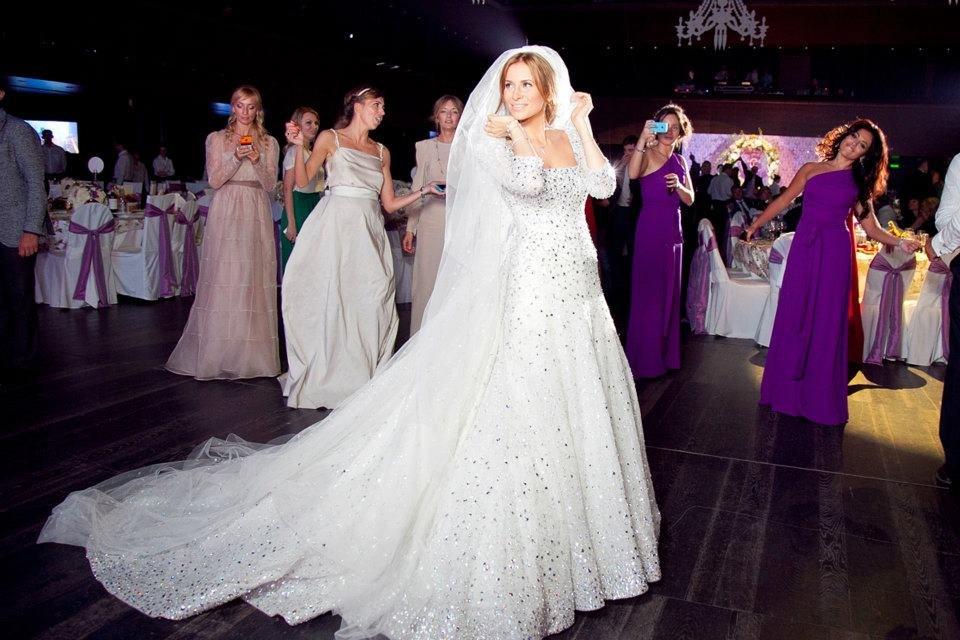 Вторая часть свадьбы проходила в имении Barviha Luxury Villadge