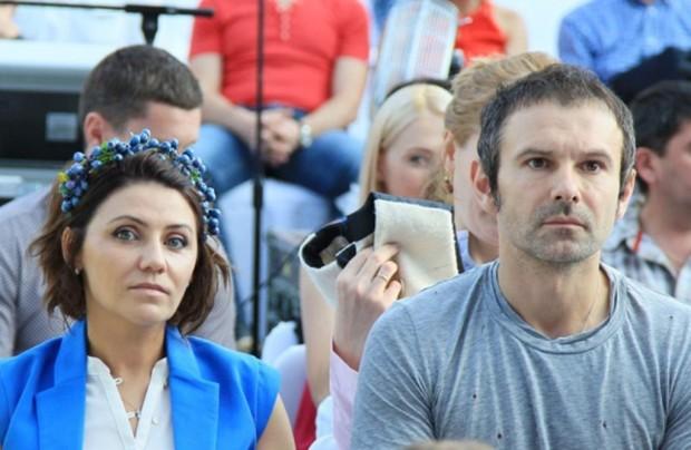 Вячеслав Вакарчук с женой