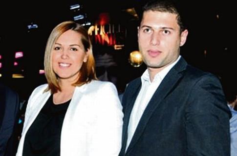 Яна Клочкова и Леван Ростошвили