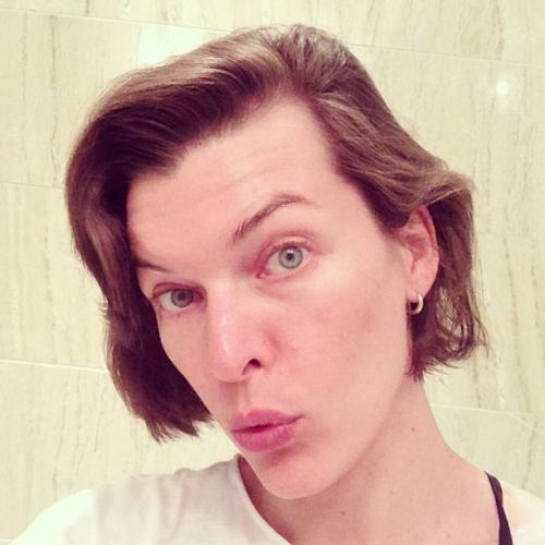 Мила йовович без макияжа и