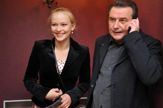 Юлия Пересильд с любимым... режиссёром — Алексеем Учителем