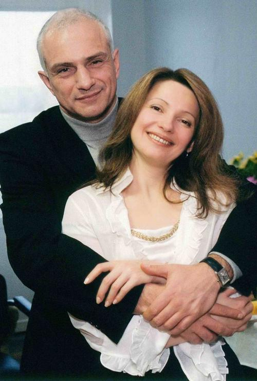 Юлия Тимошенко с мужем Александром