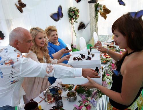 Юлия Тимошенко с мужем и дочерью