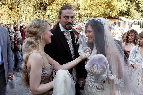 На свадьбе у дочери