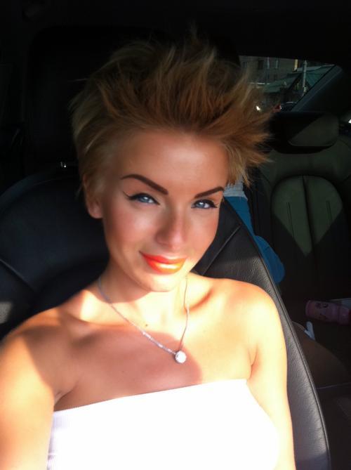 Юля Волкова стала блондинкой и похудела на одиннадцать килограммов