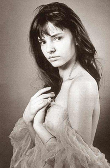 Юная Лиза Боярская