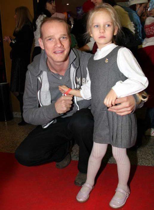 Юрий Колокольников и старшая дочь