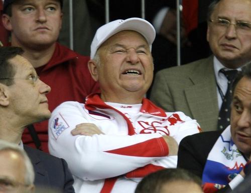 Юрий Лужков увлекся спортом