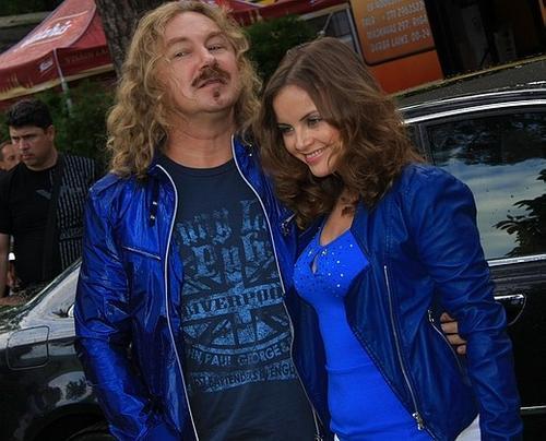 Юрий Николаев с гражданской женой Юлией Проскуряковой