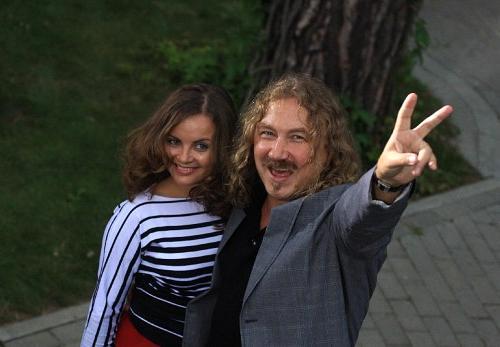Юрий Николаев с Юлией Проскуряковой