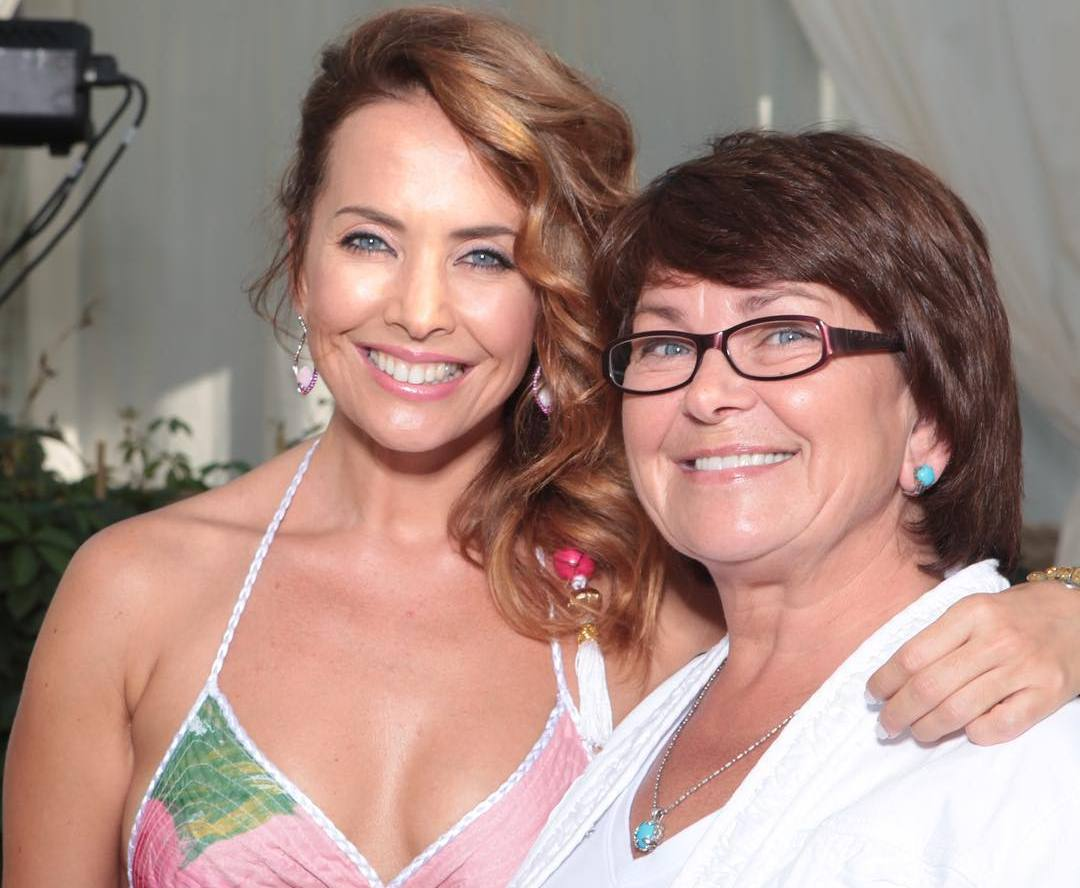 Жанна Фриске с матерью
