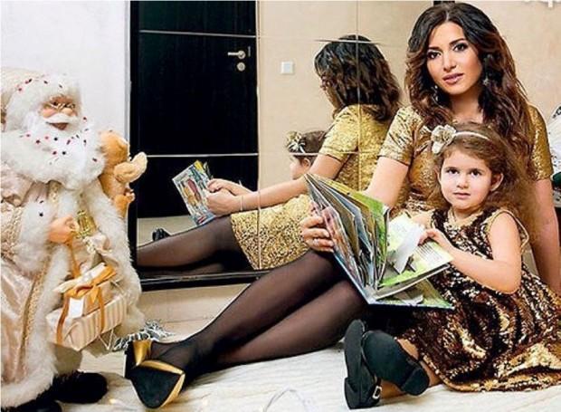 Жасмин и дочь Маргарита