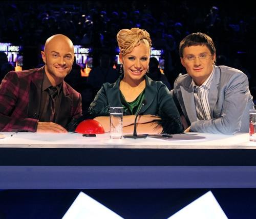 Члены жюри шоу: Влад Яма, Слава Фролова и Игорь Кондратюк