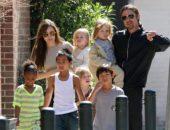 Брэд Питт и его семья