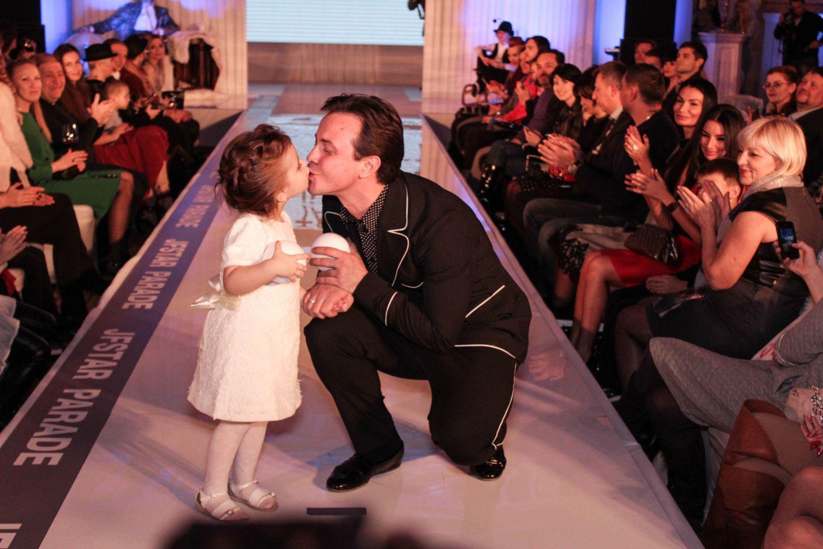 Андрей Дикий с дочкой Дианой