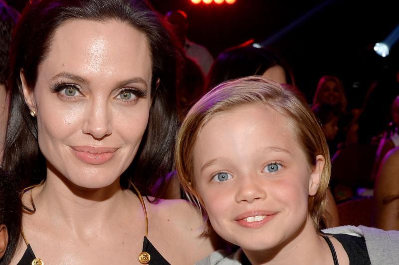 Анджелина Джоли и дочка Шайло