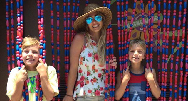 Бритни с детьми на Дне независимости