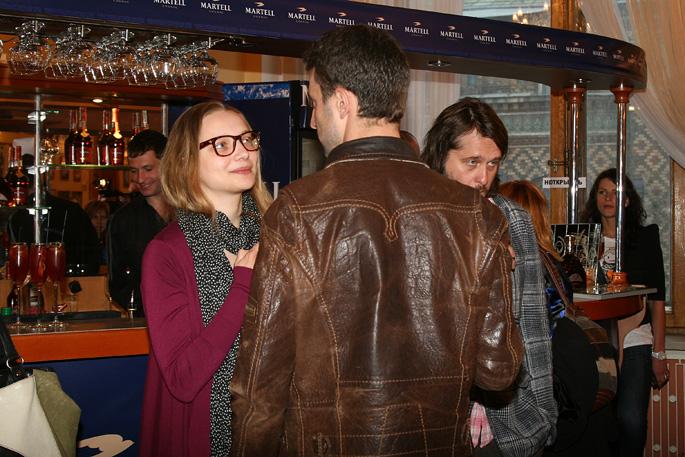 Екатерина и Илья на премьере фильма «Генсбур. Любовь хулигана»