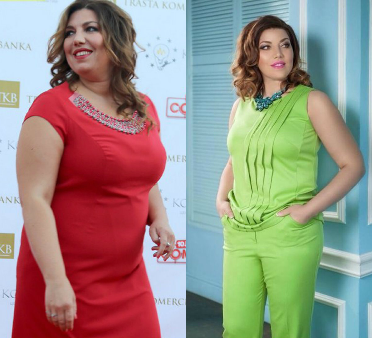 Российская актриса сильно похудели