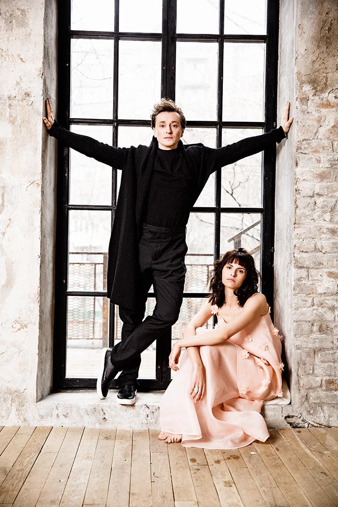 фотосессия Матисон и Безруковадля журнала Elle