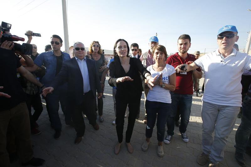 Анджелина Джоли в Турции