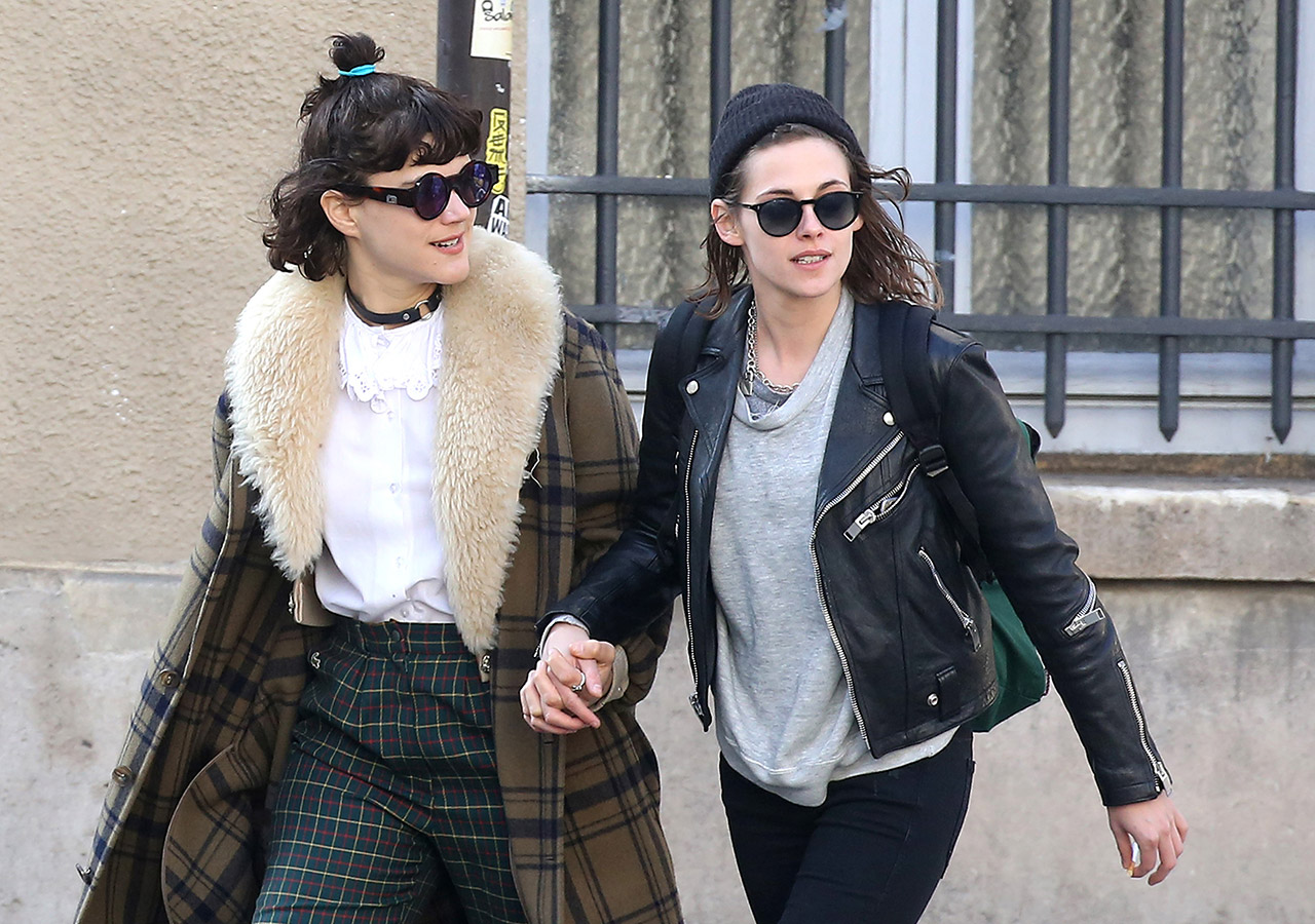 Kristen Stewart with girlfriend