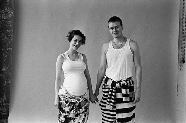 «Немножко беременная» Анна и очень счастливый Алексей