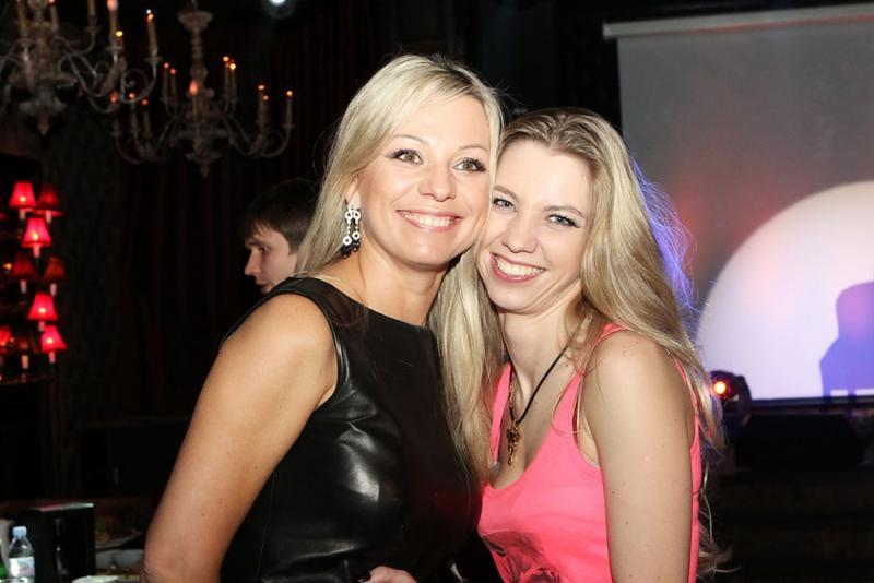 Алиса Салтыкова с мамой