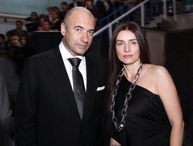 Игорь Крутой с женой