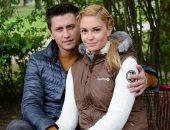 Павел Прилучный с супругой