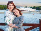 Роза Сябитова с дочерью