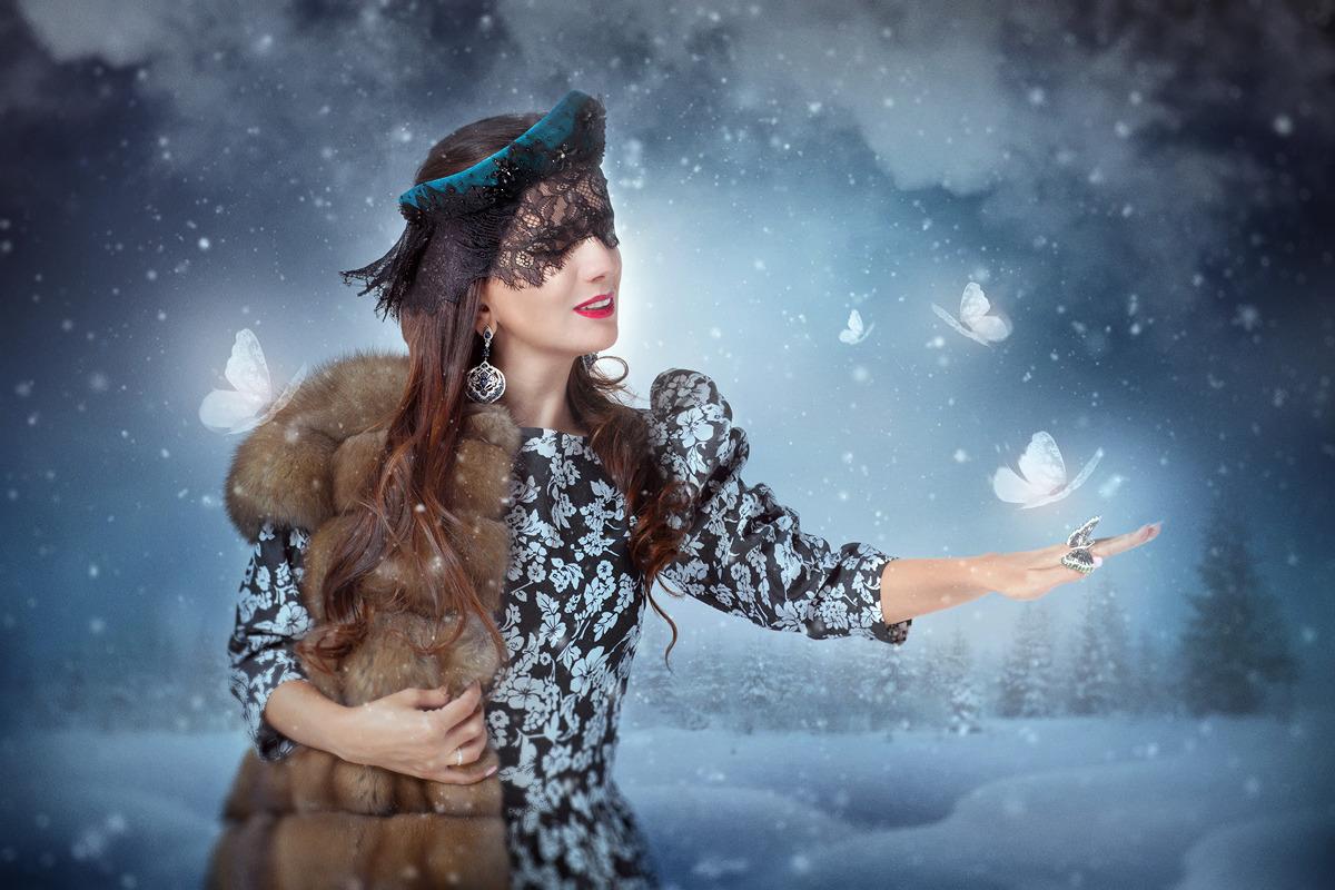 русская зима согреет всех