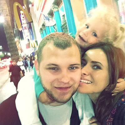 Сергей с женой Татой и дочерью Маргаритой