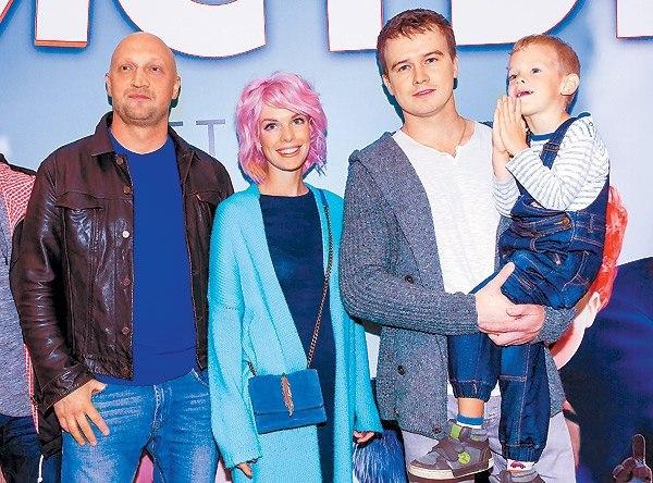 Слева направо: Куценко, Старшенбаум, Бардуковы Алексей и Иван