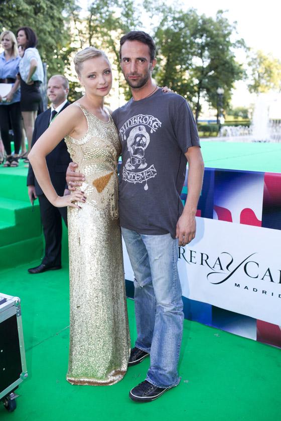 Супруги на церемонии закрытия 33го Московского международного кинофестиваля
