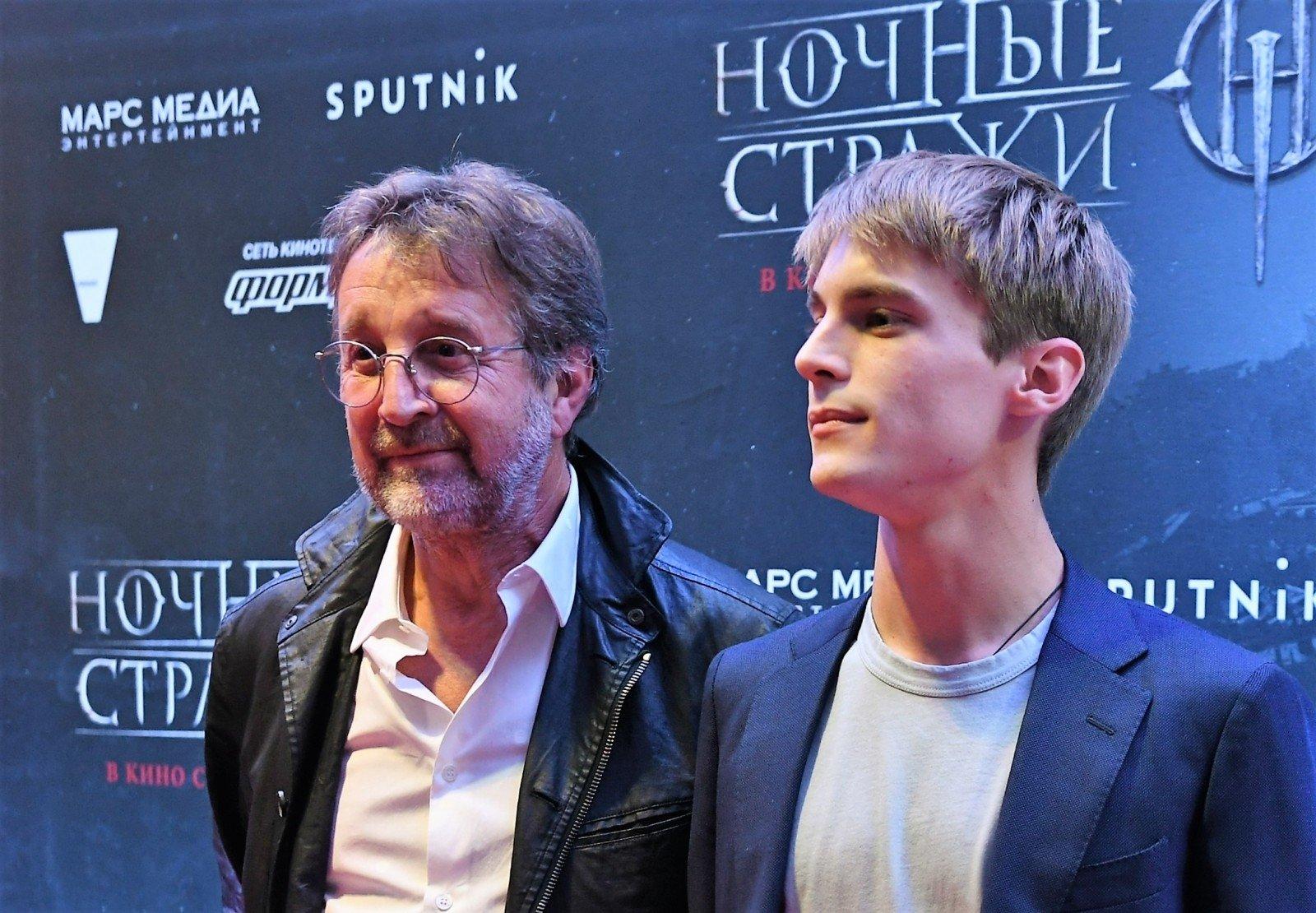 Янковский и Ярмольник на премьере «Ночных стражей»
