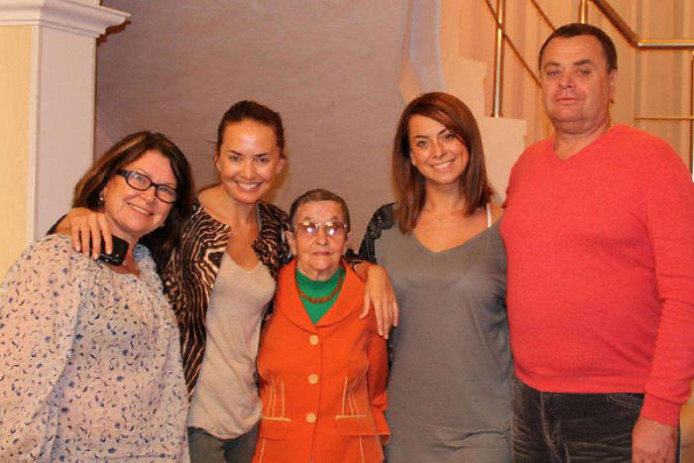 Жанна Фриске с семьёй